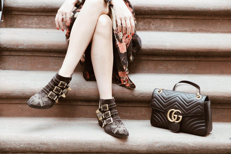 Chloe Susanna Studded Boots