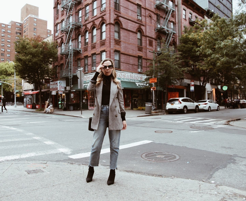 Fall fashion in New York
