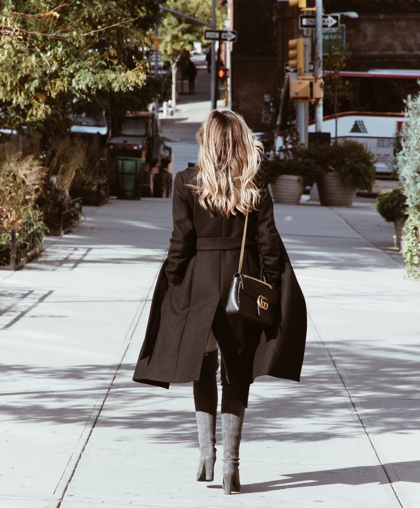 Black Reiss Coat