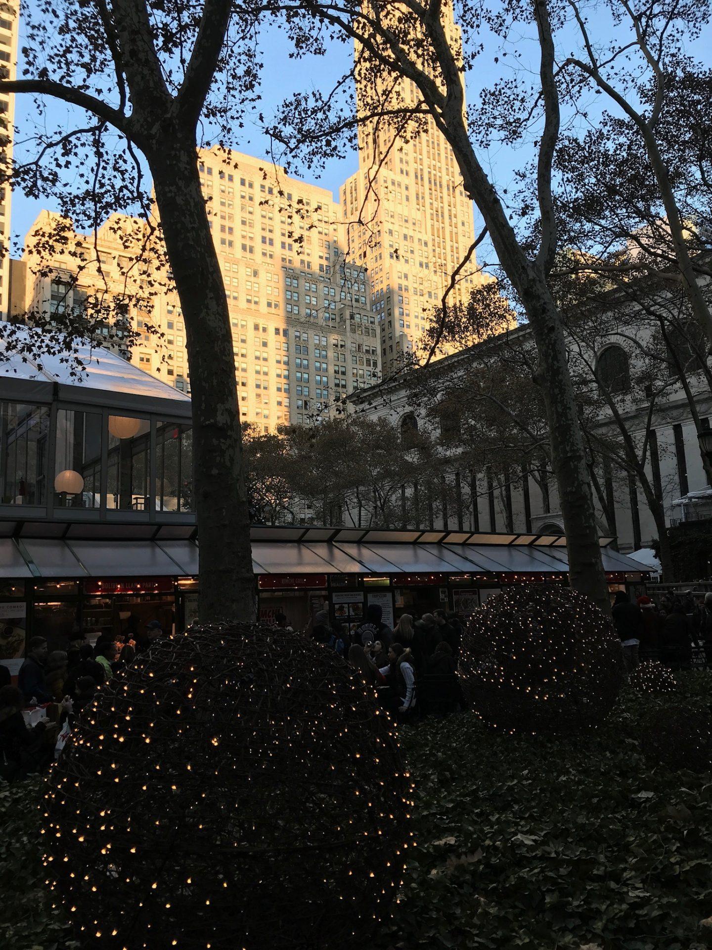 byrant park new york city