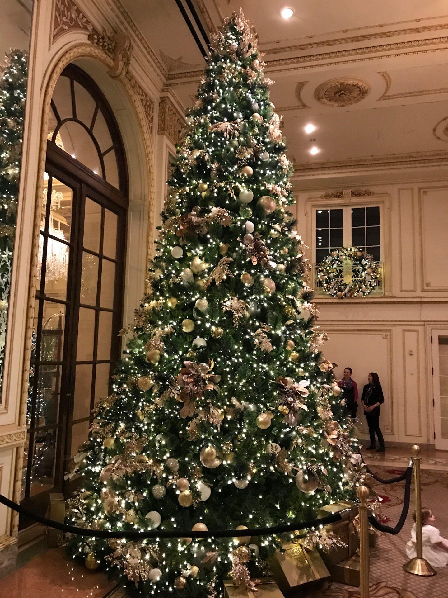 the plaza christmas tree new york