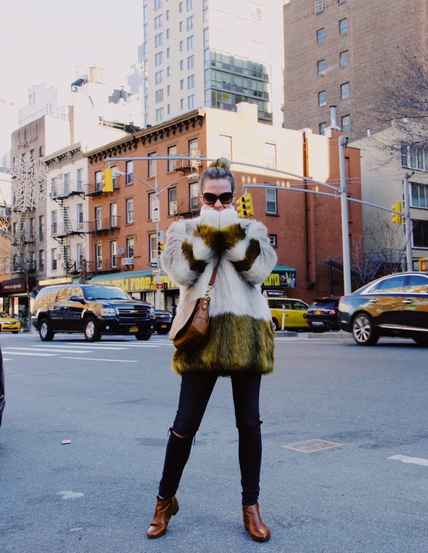 Winter Faux Fur Coat