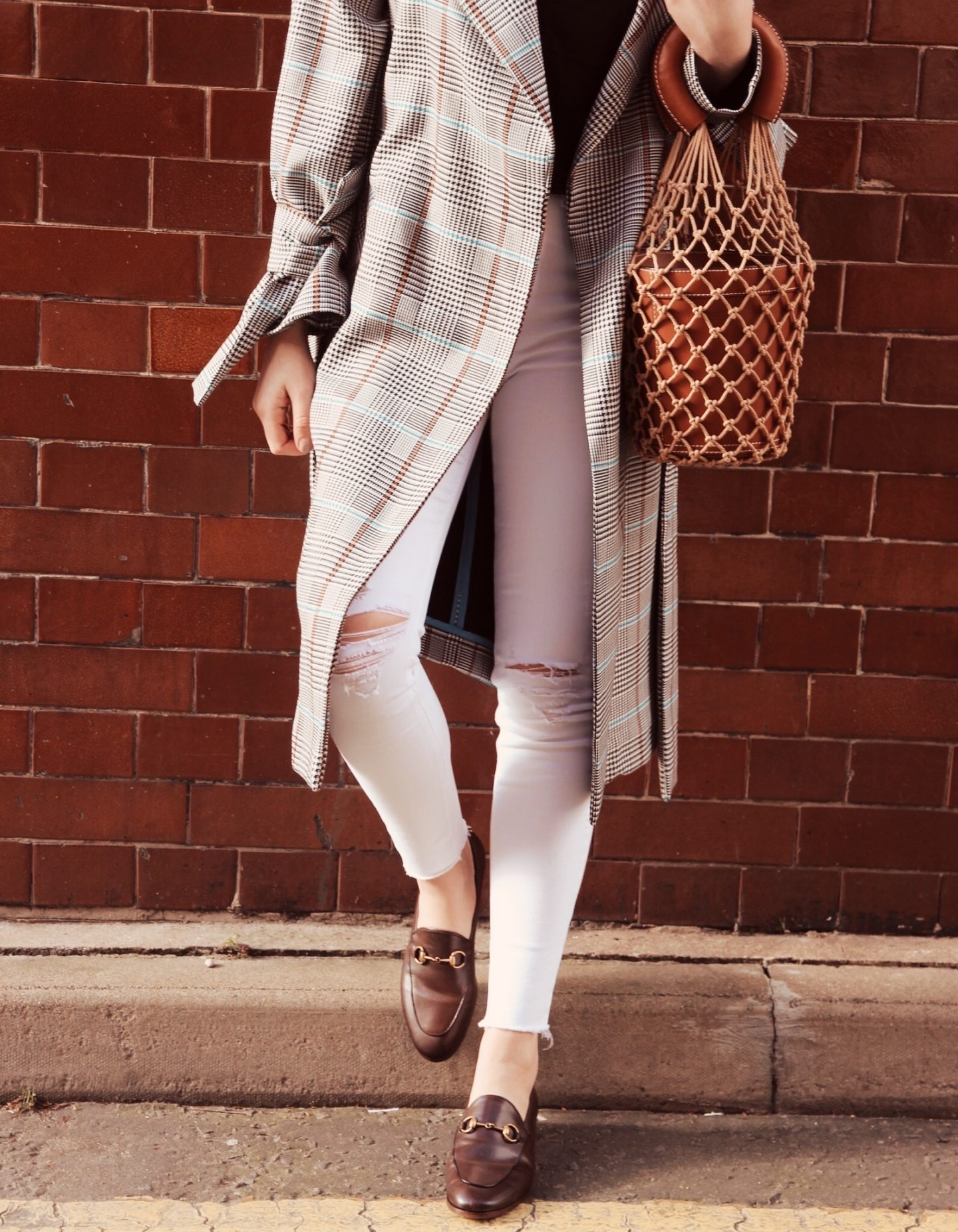 Brown Gucci Loafers for Spring