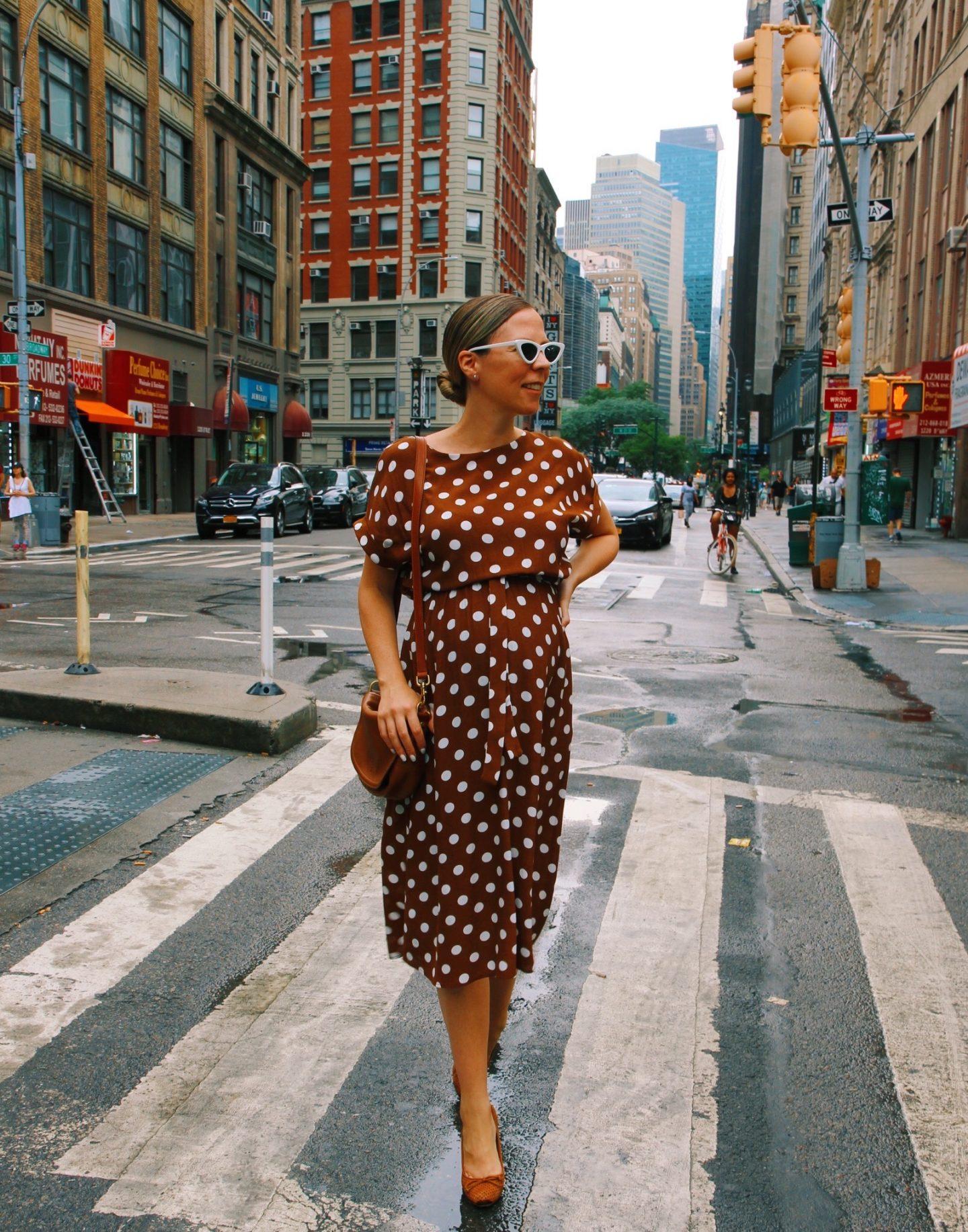 Lisa Morgan In Polka Dots