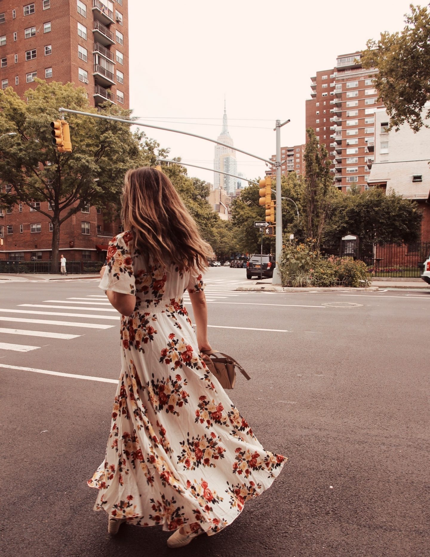 Lisa Morgan Wears Long Summer Dress