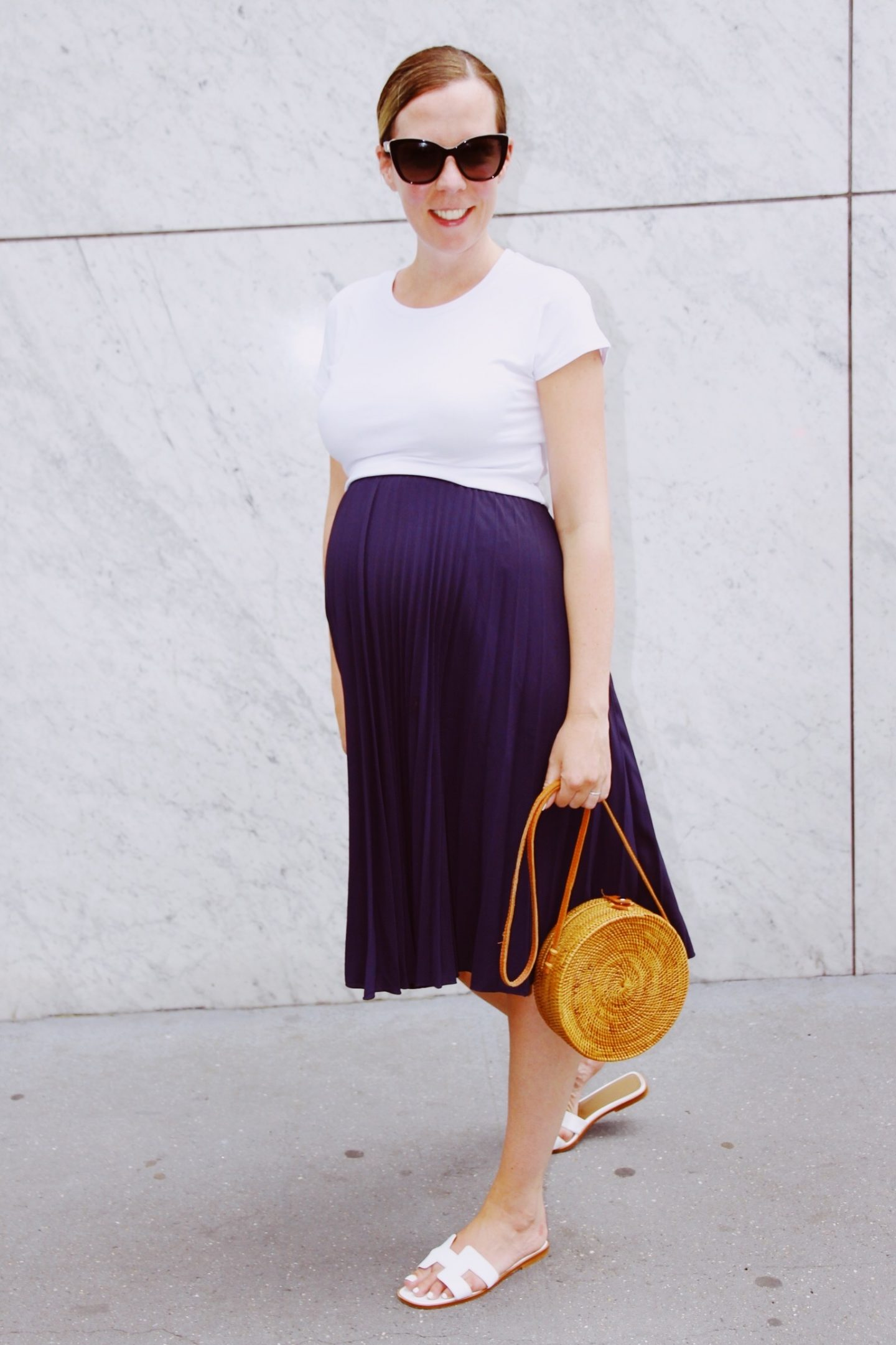 Pleated Summer Skirt