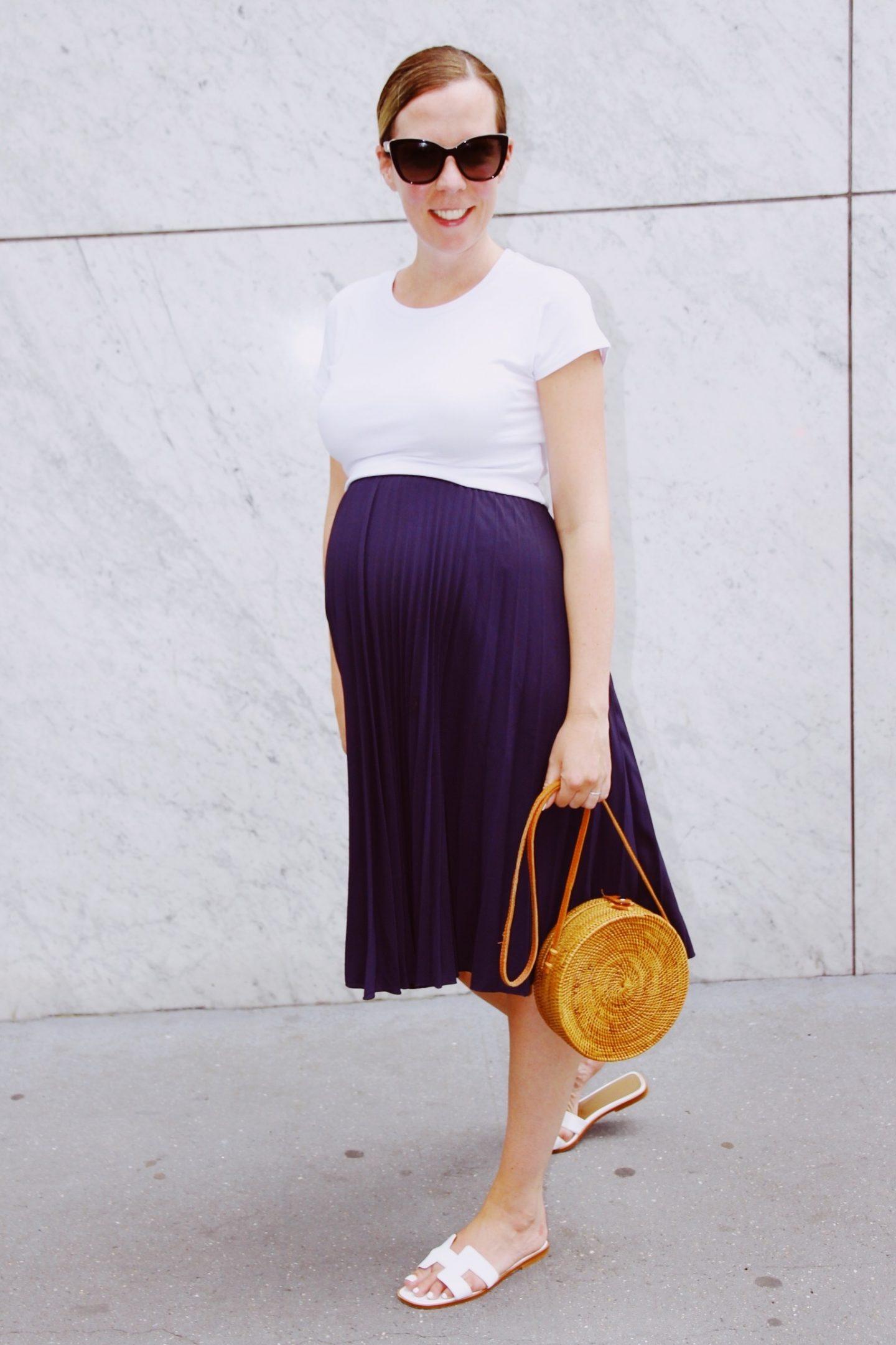 Pleated Summer Skirt