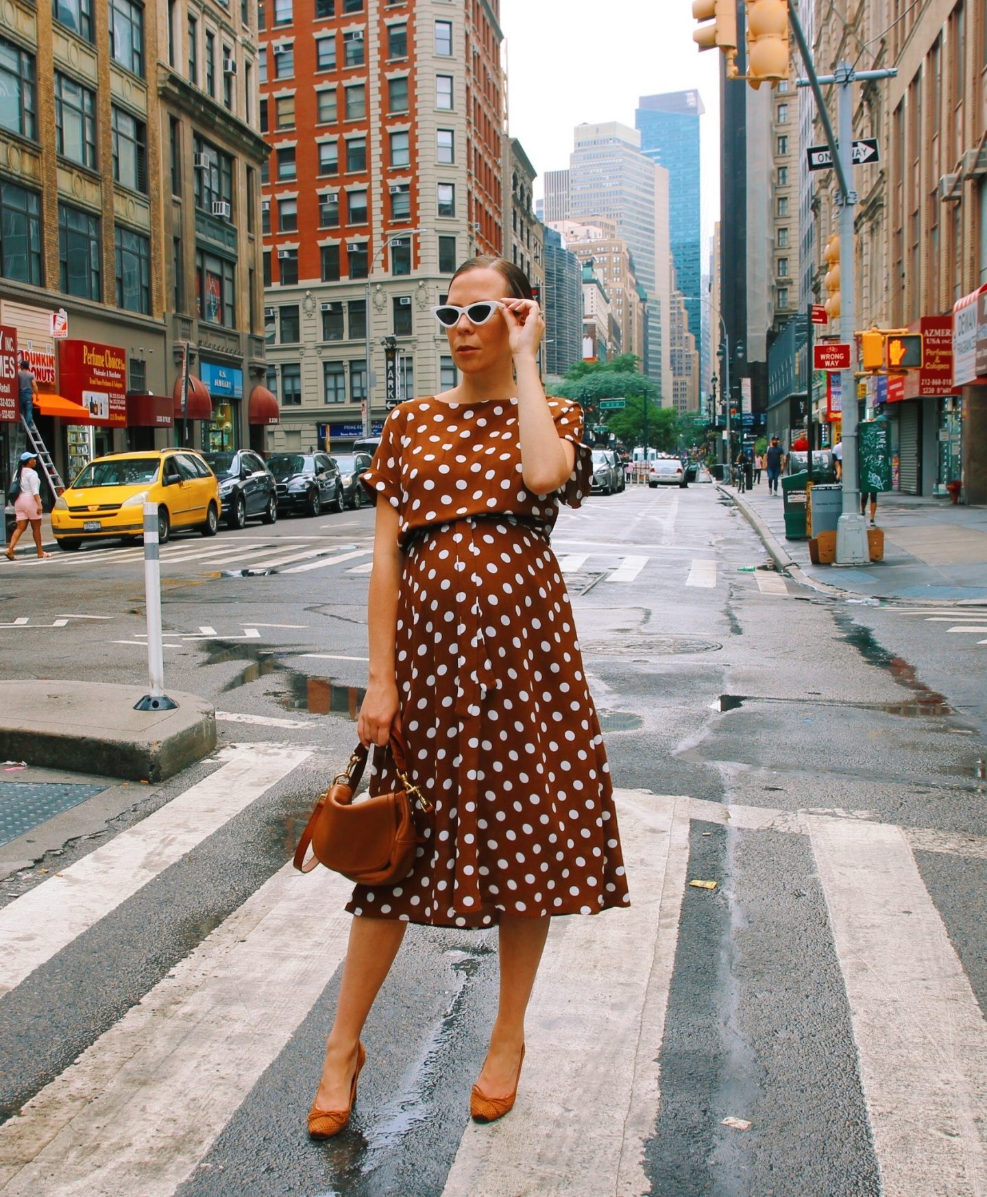 Summer Polka Dot Dress