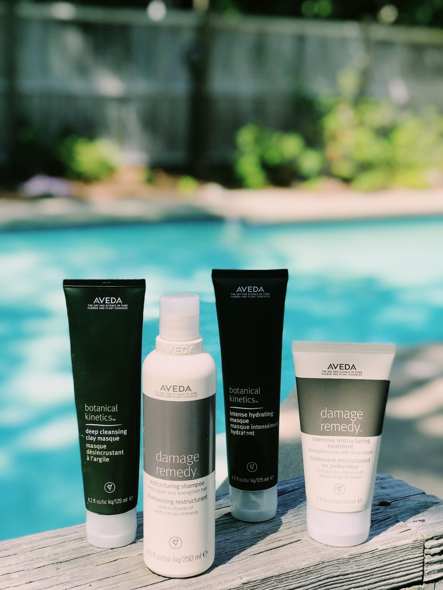 Aveda Hair Products holiday haircare routine