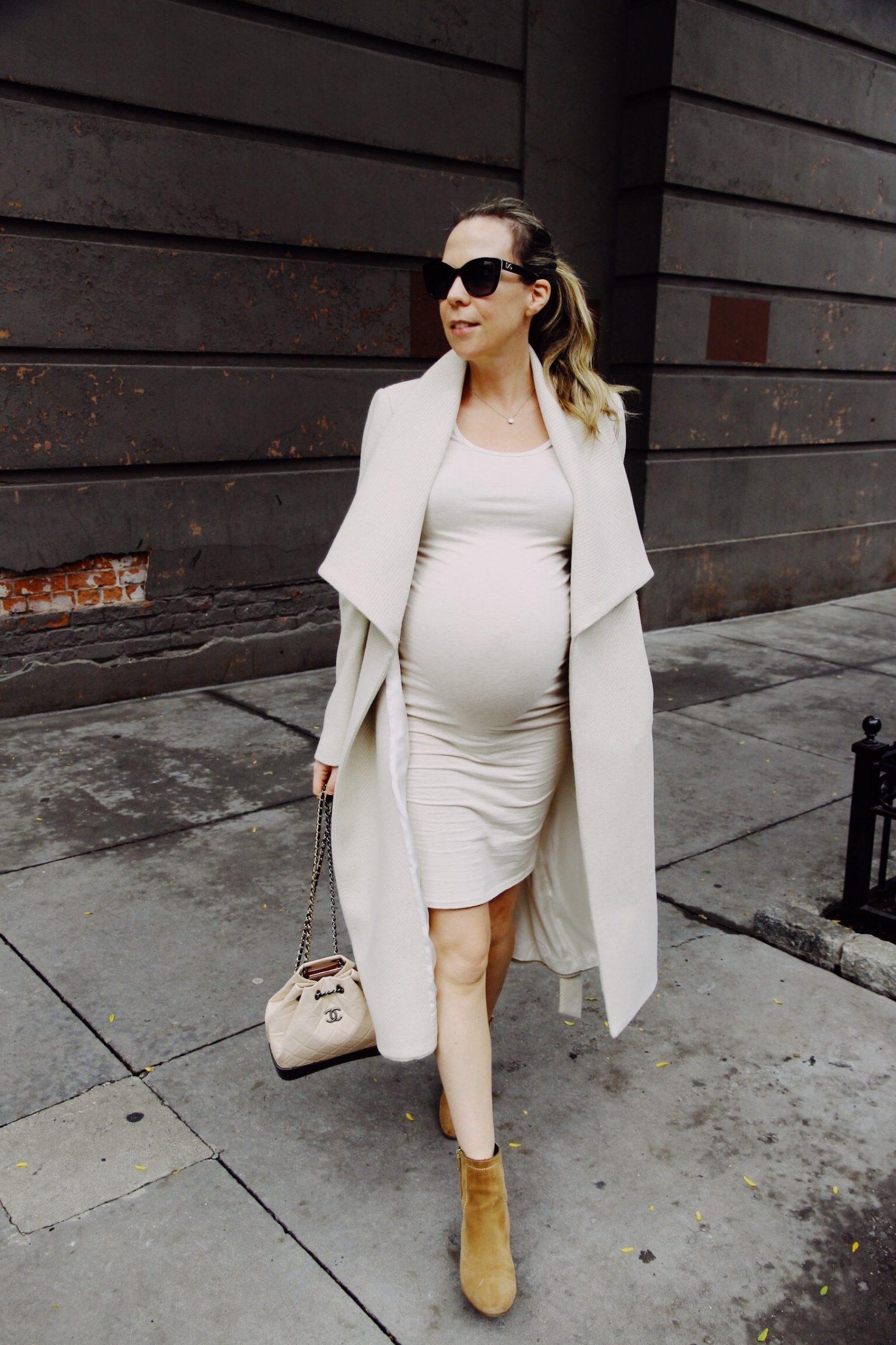 Cream Pregnancy Clothes