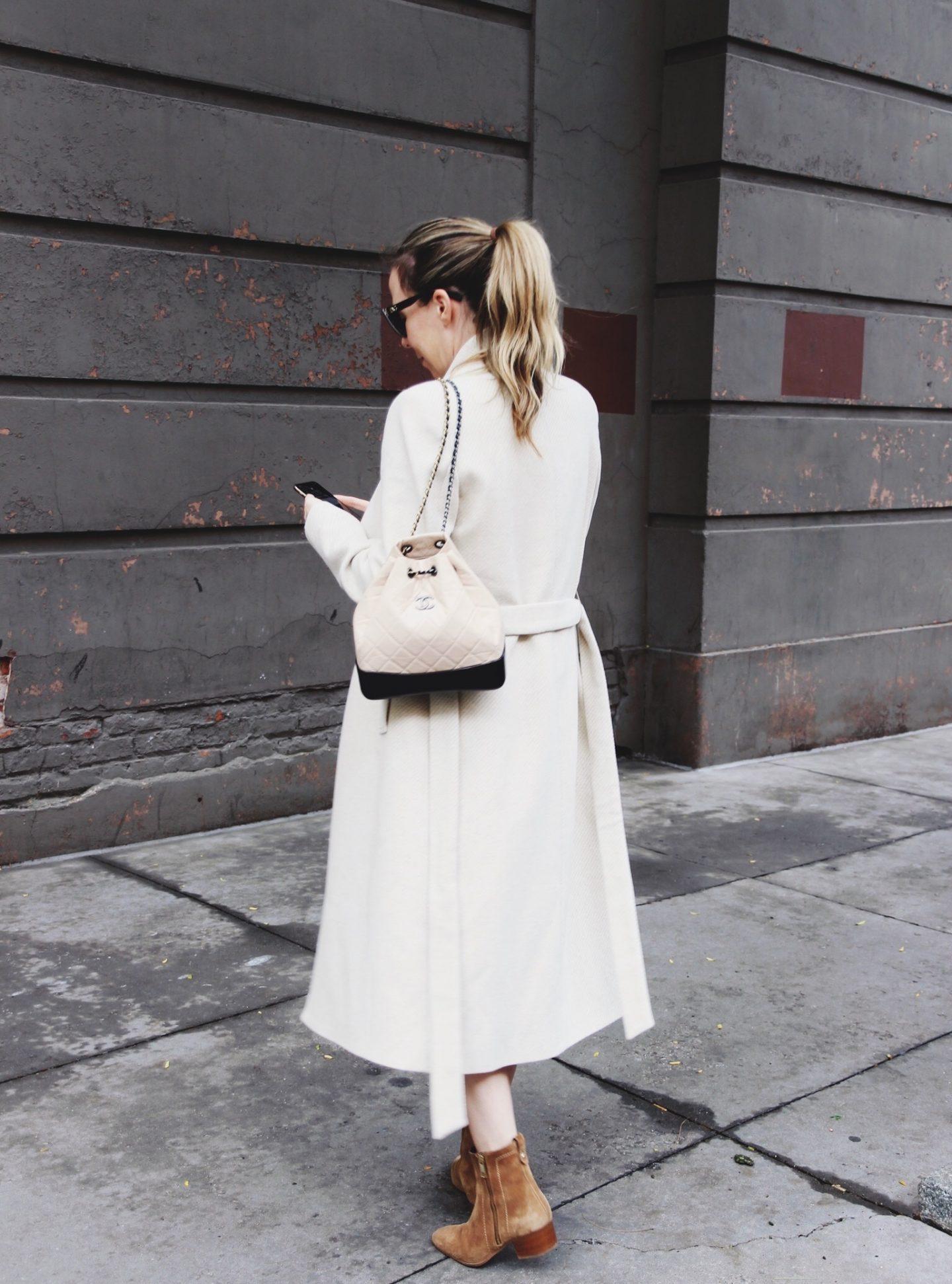 Zara Cream Coat For Winter