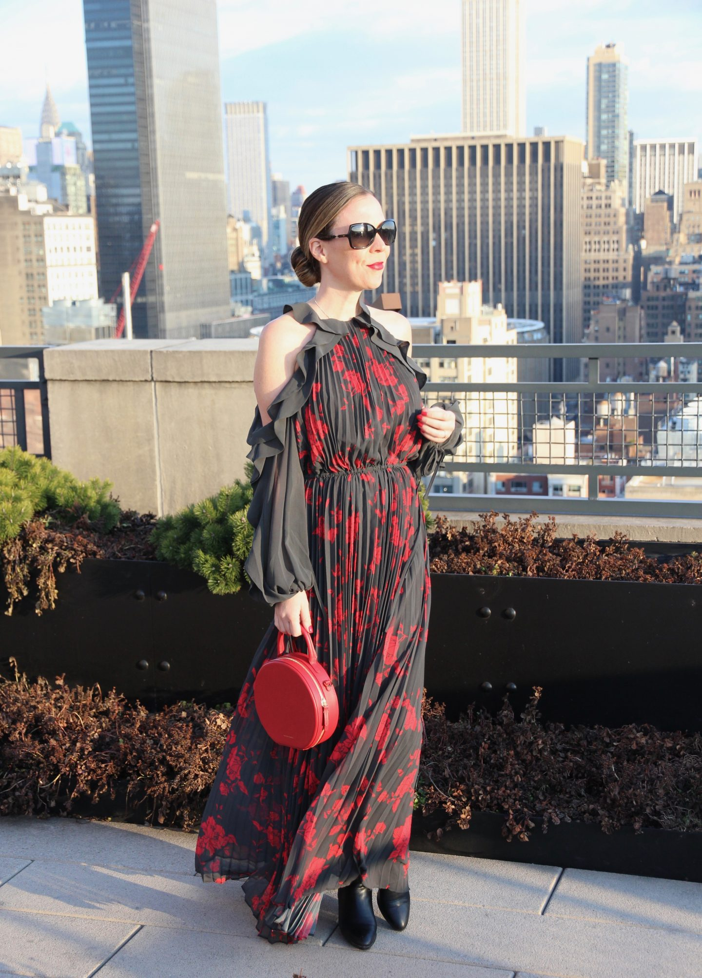 Lisa Morgan Self Portrait Dress