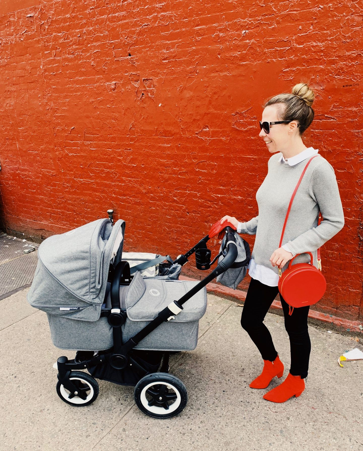 Lisa Morgan Postpartum Outfit