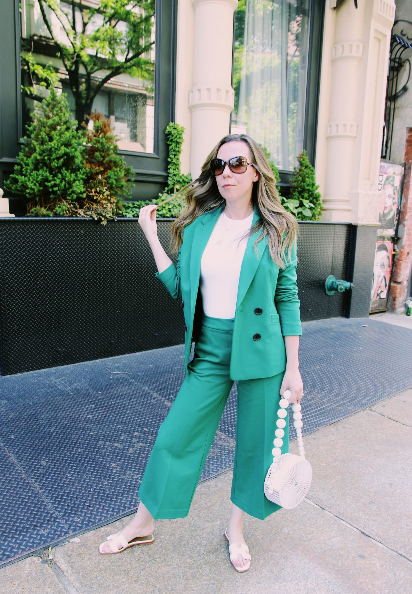 Casual Suit Look
