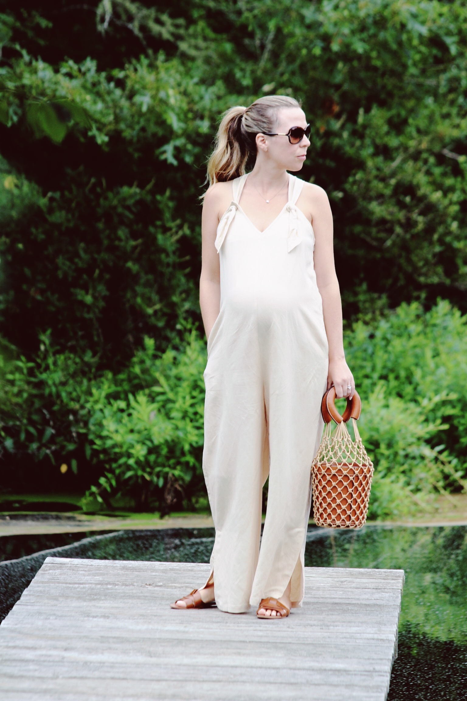 Cream Noa Hatch Jumpsuit