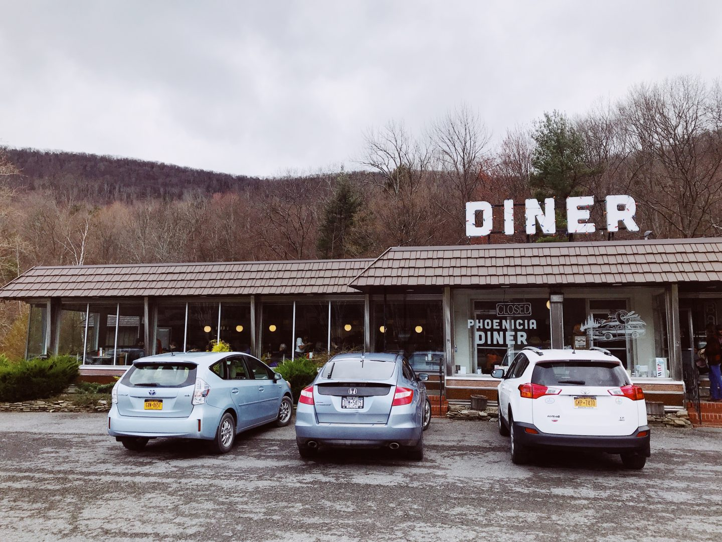 Phoenicia Diner Eating Upstate