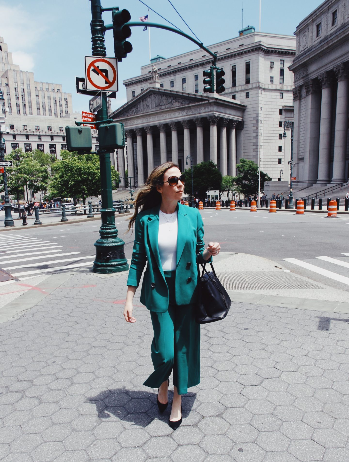 Women's Green Coloured Suit